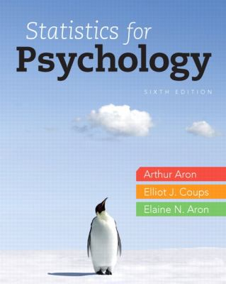 Statistics for Psychology 9780205258154