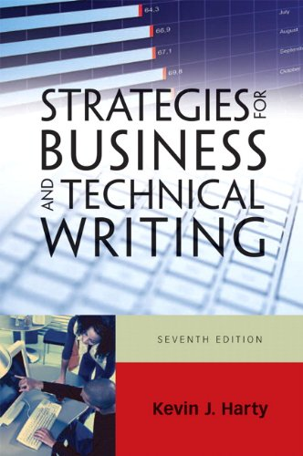 Strategies for Business and Technical Writing 9780205741915