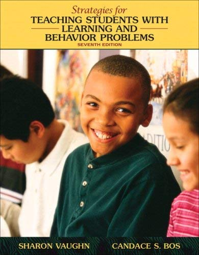 Strategies for Teaching Students with Learning and Behavior Problems [With Access Code] 9780205642656
