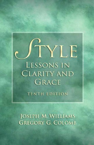 Style: Lessons in Clarity and Grace 9780205747467