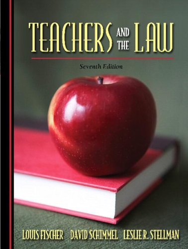 Teachers and the Law 9780205494958