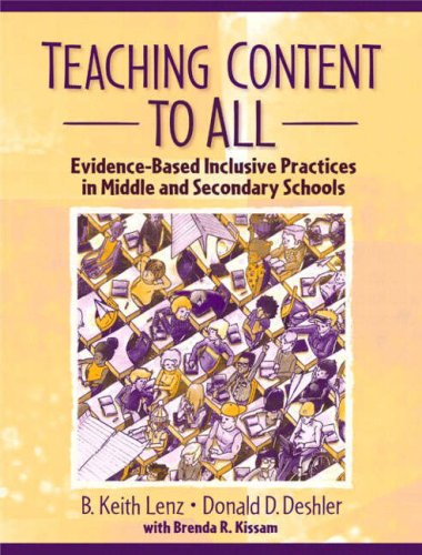 Teaching Content to All: Evidence-Based Inclusive Practices in Middle and Secondary Schools 9780205392247