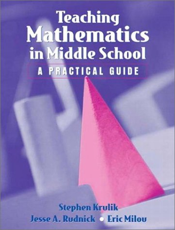 Teaching Mathematics to Middle School Students 9780205343270