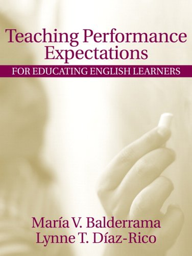 Teaching Performance Expectations for Educating English Learners 9780205422197