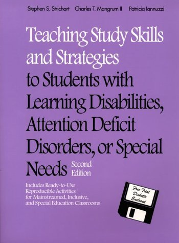 Teaching Study Skills and Strategies to Students Who Are Learning-Disabled, Add, or At-Risk 9780205274697