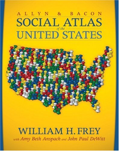 The Allyn & Bacon Social Atlas of the United States 9780205439171