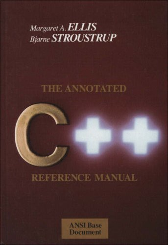 The Annotated C++ Reference Manual 9780201514599