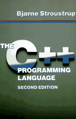 The C++ Programming Language 9780201539929