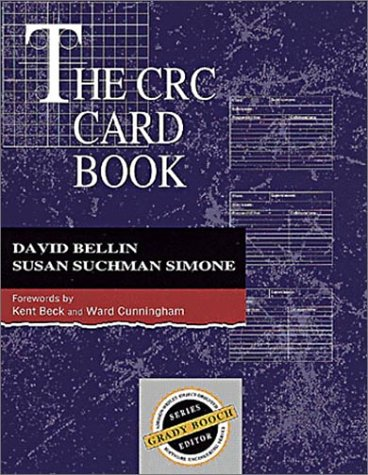 The CRC Card Book 9780201895353