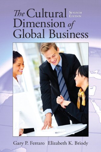 The Cultural Dimension of Global Business 9780205835591
