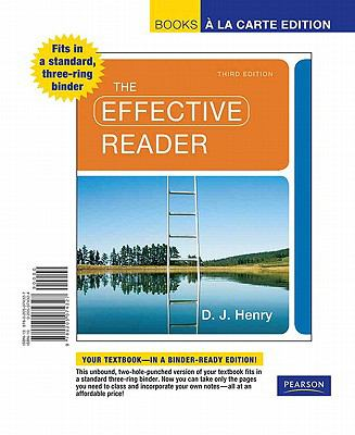 The Effective Reader, Books a la Carte Edition 9780205074327