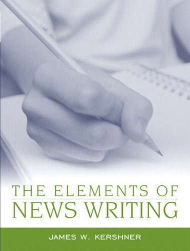 The Elements of News Writing 9780205386512
