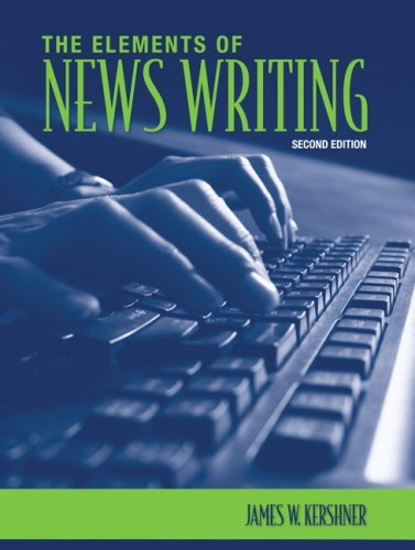 The Elements of News Writing 9780205577668