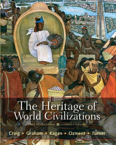 The Heritage of World Civilizations, Combined Volume 9780205835492