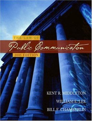 The Law of Public Communication, 2005 Edition 9780205418930