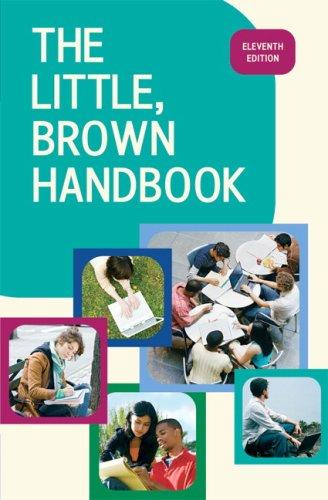 The Little, Brown Handbook 9780205651719