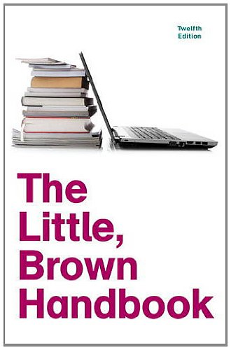 The Little, Brown Handbook 9780205213078