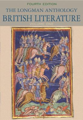 The Longman Anthology of British Literature, Volume One: The Middle Ages Through the Eighteenth Century 9780205655243