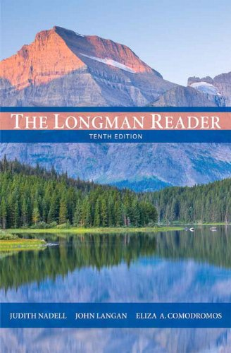 The Longman Reader 9780205172894