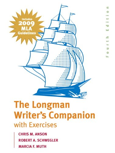 The Longman Writer's Companion with Exercises: Includes 2009 MLA Guidelines 9780205741809