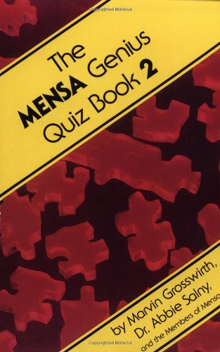 The Mensa Genius Quiz Book 2 9780201059588