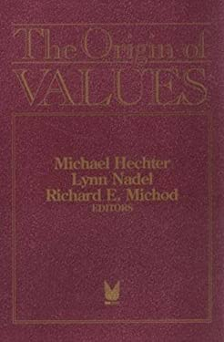 The Origin of Values 9780202304465