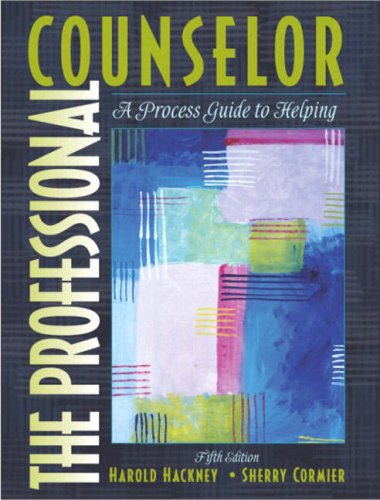 The Professional Counselor: A Process Guide to Helping 9780205410651