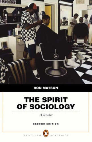 The Spirit of Sociology: A Reader 9780205524648
