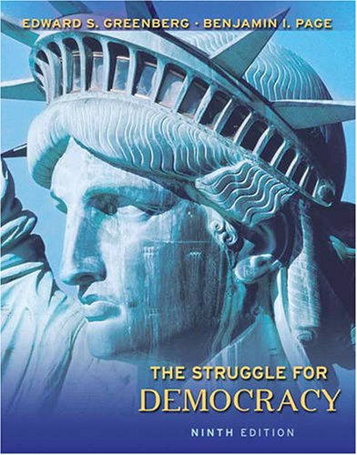 The Struggle for Democracy 9780205648467