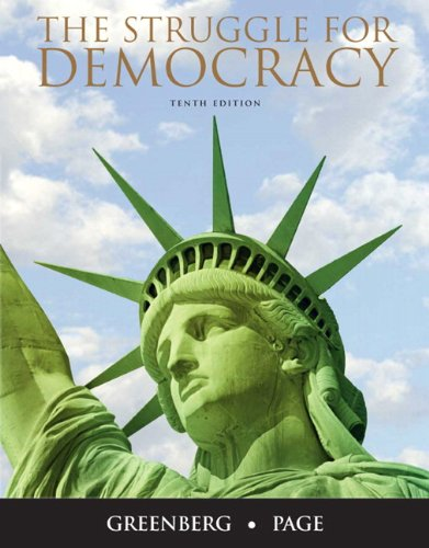 The Struggle for Democracy 9780205771295