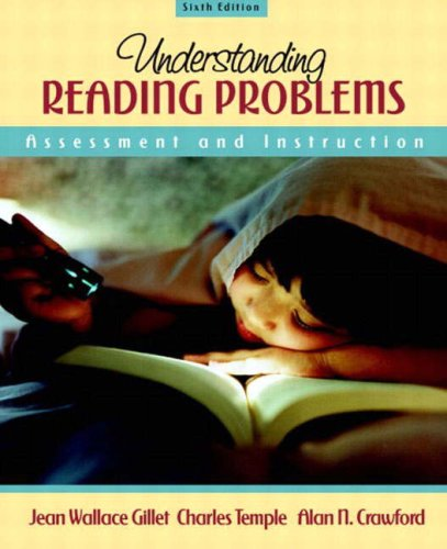 Understanding Reading Problems: Assessment and Instruction 9780205386420