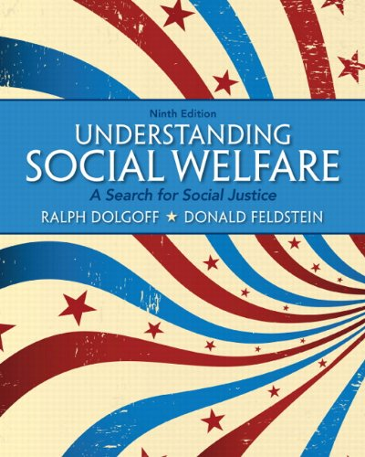 Understanding Social Welfare: A Search for Social Justice 9780205179701