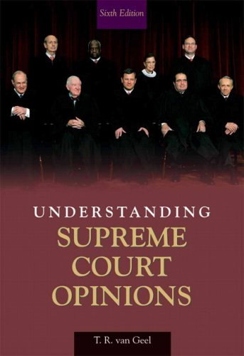 Understanding Supreme Court Opinions 9780205621613