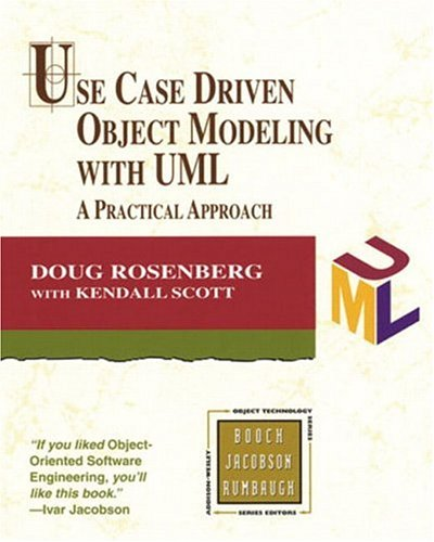 Use Case Driven Object Modeling with UML 9780201432893