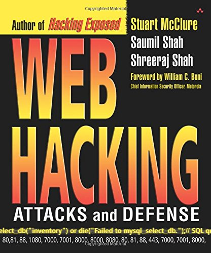 Web Hacking: Attacks and Defense 9780201761764