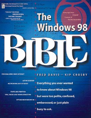 Windows 98 Bible 9780201696905