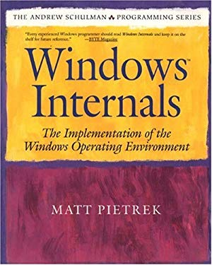 Windows Internals: The Implementation of the Windows Operating Environment 9780201622171