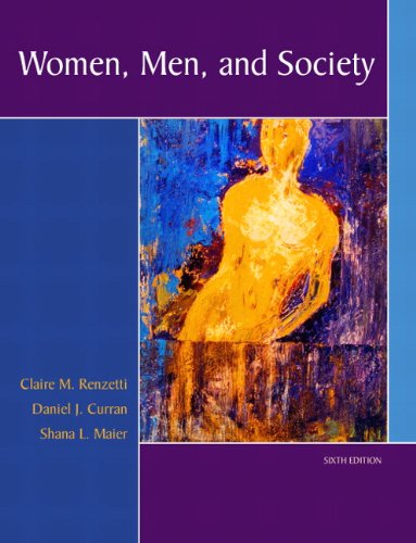 Women, Men, and Society 9780205459599