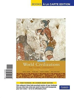 World Civilizations: The Global Experience, Volume 1, Books a la Carte Edition 9780205659661