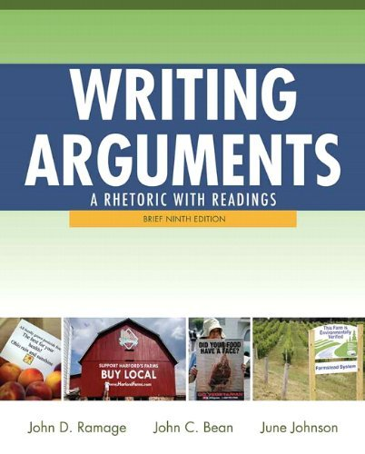 Writing Arguments: A Rhetoric with Readings, Brief Edition 9780205171569