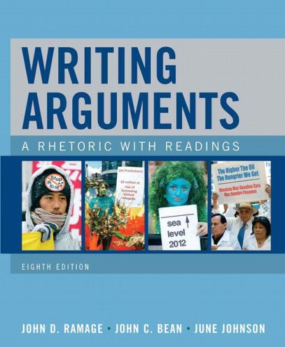 Writing Arguments: A Rhetoric with Readings 9780205648368