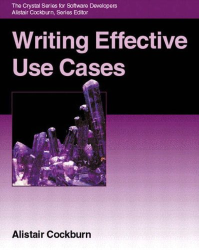 Writing Effective Use Cases 9780201702255