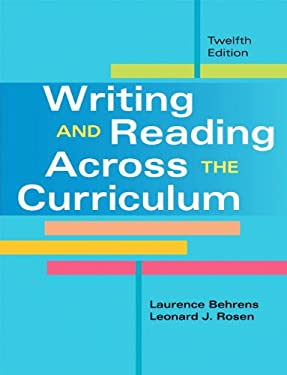 writing across the curriculum science Writing across the curriculum (wac) has been a force in education for more than  25  structure of chemistry in classroom instruction and in science writing.