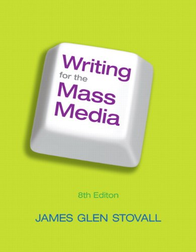 Writing for the Mass Media 9780205043446