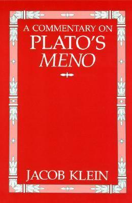 A Commentary on Plato's Meno 9780226439594