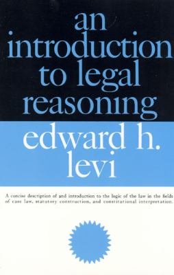 An Introduction to Legal Reasoning 9780226474083