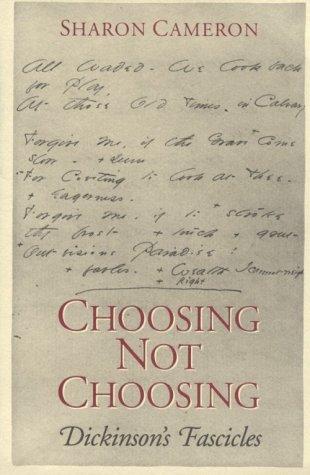 Choosing Not Choosing 9780226092348
