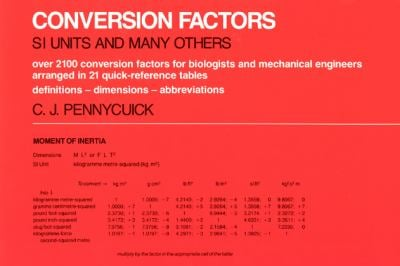 Conversion Factors: S. I. Units and Many Others 9780226655079