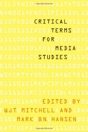 Critical Terms for Media Studies 9780226532554