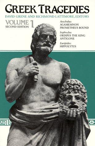 Greek Tragedies, Volume 1 9780226307909